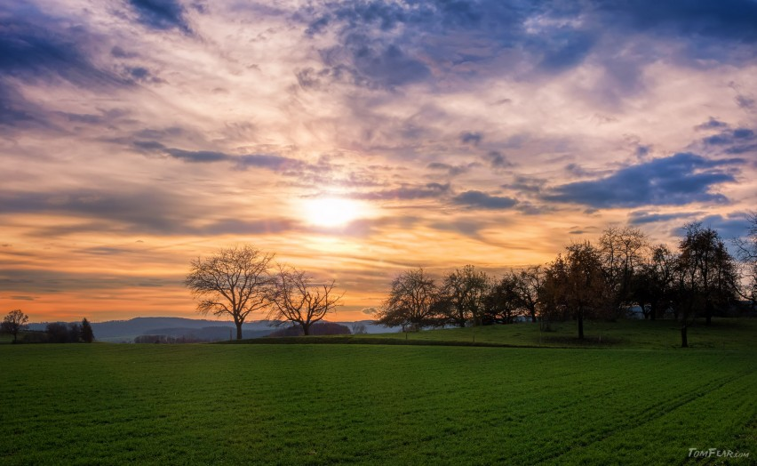 berg-sunset